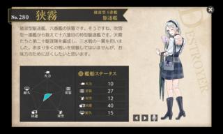 綾波型 6番艦 駆逐艦 狭霧 梅雨.png