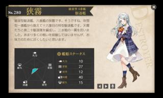 綾波型 6番艦 駆逐艦 狭霧 私服ハロウィン.png