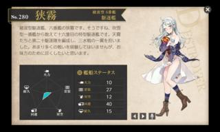 綾波型 6番艦 駆逐艦 狭霧 私服ハロウィン 中破.png