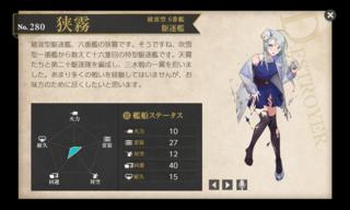 綾波型 6番艦 駆逐艦 狭霧 節分 中破.png