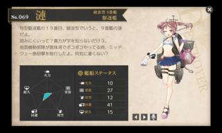 綾波型 9番艦 駆逐艦 漣 水着.png