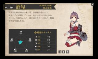 阿賀野型 4番艦 軽巡洋艦 酒匂 クリスマス 中破.png